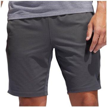 adidas kurze Sporthosen grau
