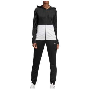 adidas TrainingsanzügeTracksuit Linear French Terry Hood Women schwarz