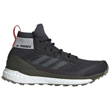 adidas WanderschuheTerrex Free Hiker Boost schwarz