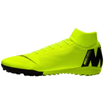 Nike Multinocken-SohleMercurialX Superfly VI Academy TF gelb