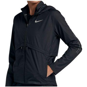 Nike ÜbergangsjackenEssential Running Hooded Jacket Women schwarz