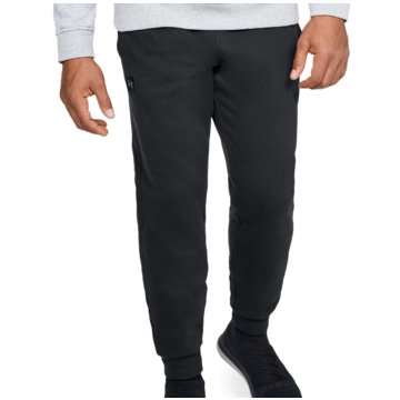 Under Armour Lange HosenSPORTSTYLE COTTON GRAPHIC JOGGER - 1329298 schwarz