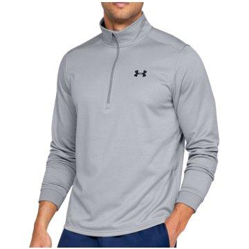 Under Armour T-ShirtsFleece 1/2 Zip grau