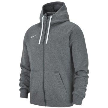 Nike SweatjackenTeam Club 19 FZ Hoodie grau