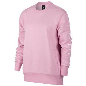 Nike SweatshirtsDry Top LS PO Crew Women rosa