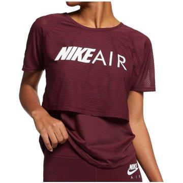 Nike T-ShirtsAir Run Top SS Women rot