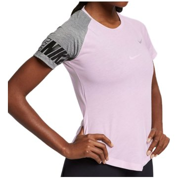 Nike T-ShirtsMiler GFX Top SS Women rosa