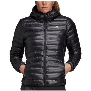 adidas FunktionsjackenVarilite Hooded Down Jacket Women schwarz