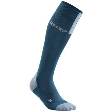 CEP Kniestrümpfe RUN SOCKS 3.0, BLUE/GREY, WOMEN - WP40X blau