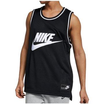 Nike Tanktops schwarz