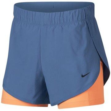 Nike kurze SporthosenFlex 2in1 Short Women blau