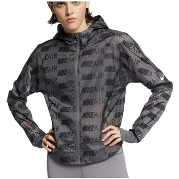 Nike LaufjackenAir Hooded Running Jacket Women grau