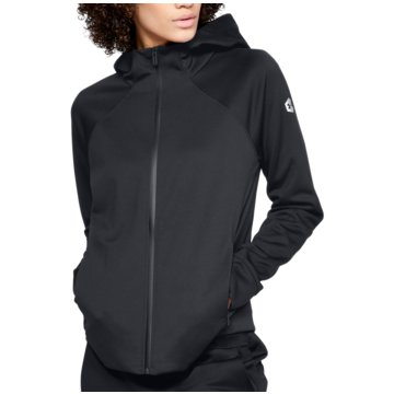 Under Armour SweatshirtsAthlete Recovery Jacket Women schwarz