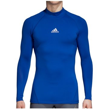 adidas FunktionsshirtsAlphaskin Sport Climawarm Longsleeve blau