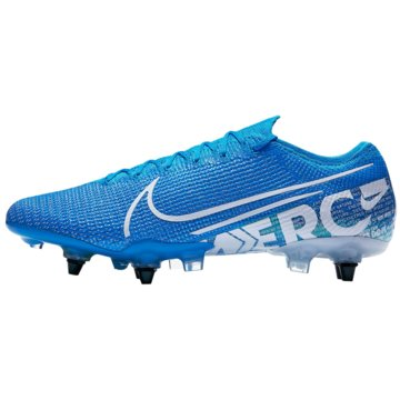 Nike Stollen-SohleMercurial Vapor XIII Elite SG-Pro Anti-Clog blau