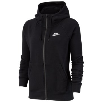 Nike SweatjackenNike Sportswear Essential Women's Full-Zip Fleece Hoodie - BV4122-010 schwarz