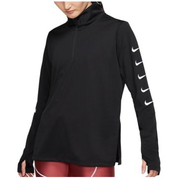 Nike SweatshirtsSwoosh Run Top HZ Women schwarz