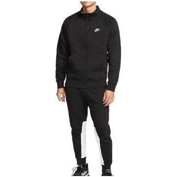 Nike JogginganzügeSportswear Fleece Tracksuit schwarz