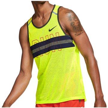 Nike TanktopsWild Run Mesh Tank gelb