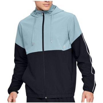 Under Armour SweatshirtsAthlete Recovery Woven Warm Up Jacket schwarz