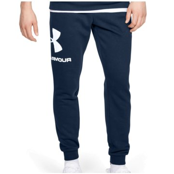 Under Armour TrainingshosenColdGear Rival Fleece Logo Jogger Pant blau