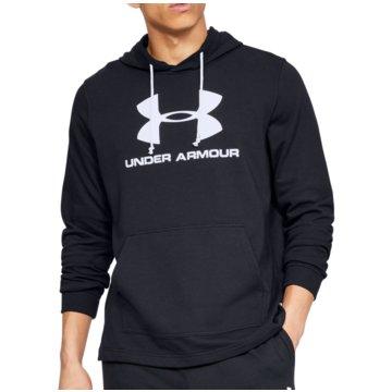Under Armour SweatshirtsSportstyle Logo Terry Hoodie schwarz