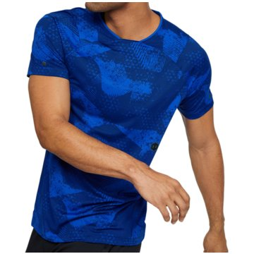 Under Armour FunktionsshirtsRush Fitted SS Tee blau