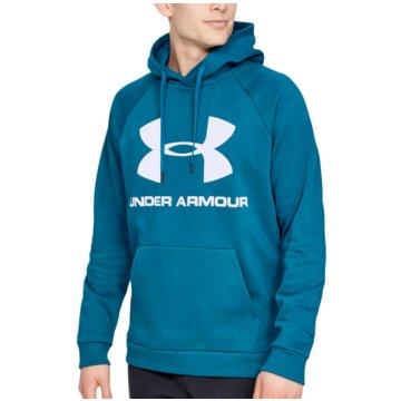 Under Armour SweatshirtsColdGear Rival Fleece Logo Hoodie türkis
