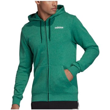 adidas HoodiesESSENTIALS LINEAR FRENCH TERRY KAPUZENJACKE - FM6035 grün