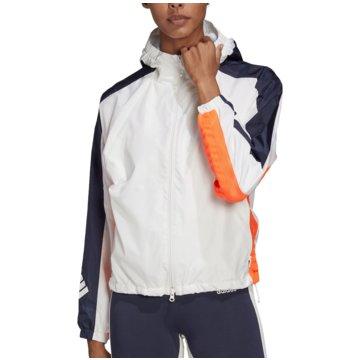 adidas TrainingsjackenW.N.D. Fleece Lined Jacket Women weiß
