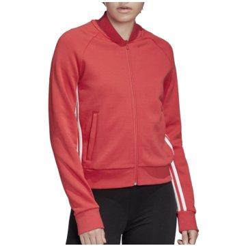 adidas TrainingsjackenMust Haves 3 Stripes Doubleknit Track Jacket Women pink
