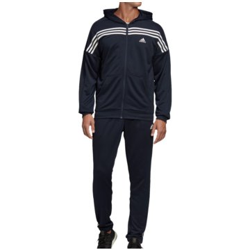 adidas TrainingsanzügeMTS TRAININGSANZUG - FS6091 blau