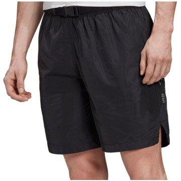 adidas kurze SporthosenTech Shorts schwarz