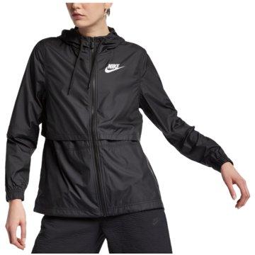 Nike TrainingsjackenSPORTSWEAR WOMEN'S WOVEN JACKE - AJ2982 schwarz