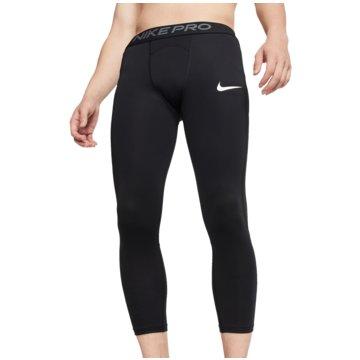 Nike TightsM NP TGHT 3QT - BV5643 schwarz