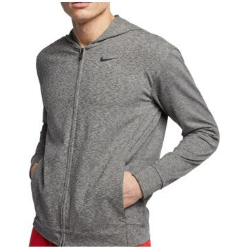 Nike SweatjackenNIKE DRI-FIT MEN'S FULL-ZIP TRAININ - BQ2864 grau