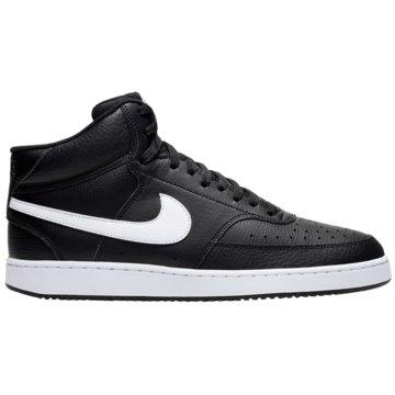 Nike Sneaker LowCOURT VISION MID - CD5466-001 schwarz