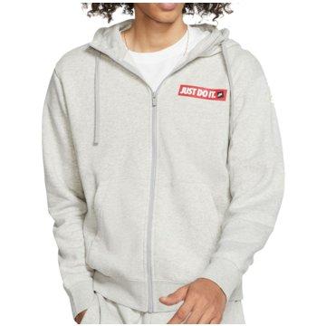 Nike SweatjackenSportswear JDI Fleece Hoodie FZ grau