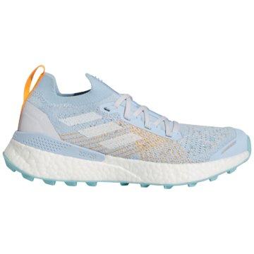 adidas TrailrunningTerrex Two Ultra Parley Boost Women blau