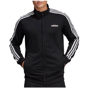 adidas TrainingsjackenEssentials 3 Stripes Tricot Track Top schwarz