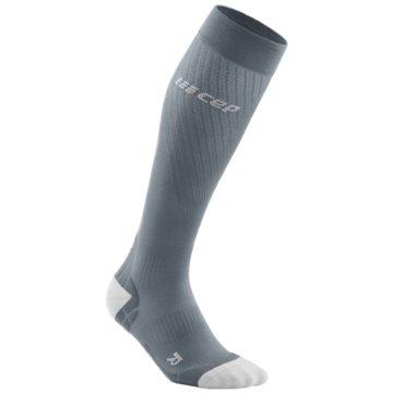 CEP KniestrümpfeRun Ultralight Compression Socks grau