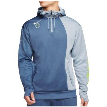 Nike HoodiesTherma F.C. Hoodie blau