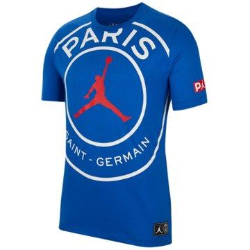 Nike T-ShirtsPSG SS Logo Tee blau