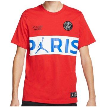 Nike T-ShirtsPSG SS Wordmark Tee rot
