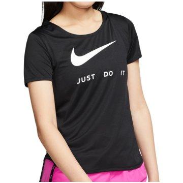 Nike T-ShirtsSwoosh Run SS Top Women schwarz