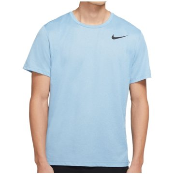 Nike T-ShirtsPro Short-Sleeve Top blau