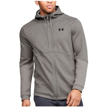 Under Armour SweatshirtsDouble Knit FZ Hoodie grau
