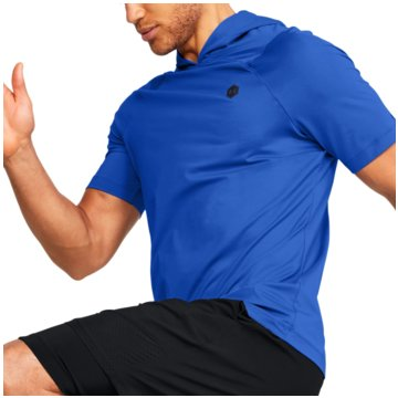 Under Armour FunktionsshirtsHG RUSH FITTED SS - 1353450 blau