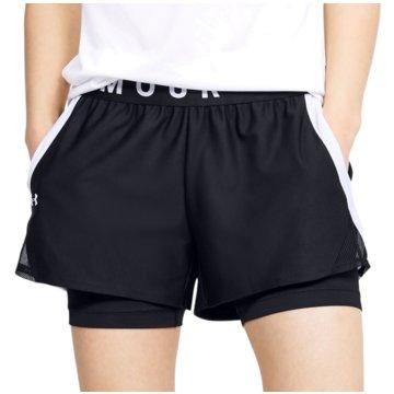 Under Armour kurze SporthosenPlay Up 2-in-1 Shorts Women schwarz