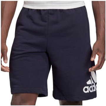adidas kurze SporthosenMust Haves Badge of Sport French Terry Short blau